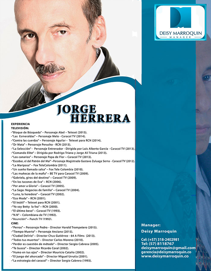 "Image result for ""jorge Herrera"" Film Director Actor"